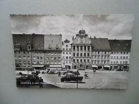 Ansichtskarte Landsberg a. Lech Hauptplatz mit Rathaus 50/60er??