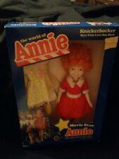 1982 NIB ANNIE W/YELLOW PARTY DRESS & SHOES KNICKERBOCKER MOVIE STAR DOLL