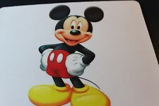 Mickey Mouse !  Disney Disneyland Anti slip COMPUTER MOUSE PAD 9 X 7inch