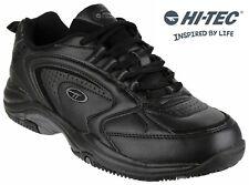Hi-Tec Blast Lite black walking gym sport casual lace up trainer shoe size 7-16