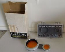 Polaroid # 516 Cloud Filter +Case & Box for Color Pack Cameras