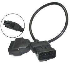 Diagnostic Adaptateur Connecteur pour OPEL OBD 2 obd2 Câble 10 broches