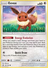 Pokemon Card: Eevee - 101/149 - Common Sun & Moon (Base Set)