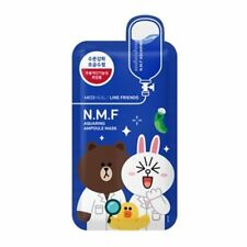 MEDIHEAL Line Friends N.M.F Aquaringer Ampoule Face Mask Sheet 27ml X 10pcs