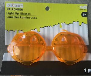 Creatology  Halloween Light Up Glasses Pumpkin Ages 5+