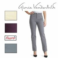 NEW! Gloria Vanderbilt Ladies Amanda Stretch Jeans Heritage Fit *PO*  A41 | A42
