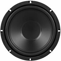 "NEW 8"" 4 ohm Subwoofer Bass Speaker.SVC Car Home Audio woofer.poly cone.80RMS."