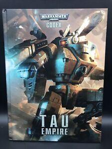 Games Workshop Warhammer 40,000 Codex Tau Empire   2012 Hardcover