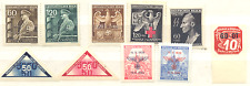 Germany special stamps from German occupation  Cechy & Morava