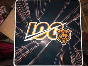 Chicago Bears 2019 Season Ticket Holder Tin NFL 100 w/o bobblehead calendar