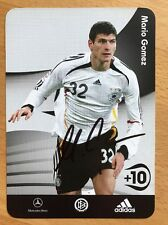 Mario Gomez AK DFB 2006 Autogrammkarte original signiert