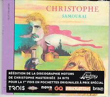 CD DIGIPACK MINI LP 8T CHRISTOPHE SAMOURAI 2013 REISSUE NEUF SCELLE