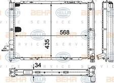 8MK 376 713-634 HELLA Radiador refrigeración del motor
