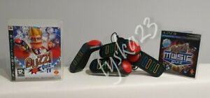 Buzz! Ultimate Music Quiz Quiz TV Official Wired Buzzers PS3 Fast Post Birthday