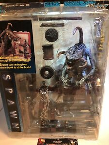 Spawn Alley Playset w/Spawn & Violator McFarlane Toys  1997 NEW 3.75