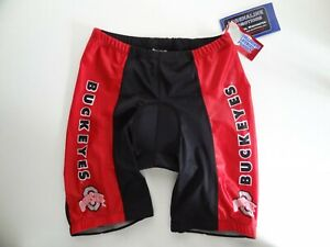 NWT Adrenaline XXL Ohio State Buckeyes Cycling Shorts Padded Collegiate Licensed