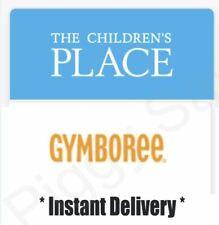THE CHILDREN'S PLACE GYMBOREE coupon  20% off Exp 12/31/2020