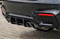 Heckansatz Heckeinsatz Diffusor Heckeinsatz aus ABS für BMW M3 3er F80
