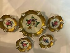 5 Piece Rosenthal Moliere Hand Painted  Porcelain Set