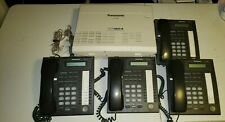 PANASONIC TA-824 SMALL OFFICE BUSINESS PHONE SYSTEM BUNDLE INCL KX-T7730 4 PHONE