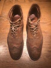 Allen Edmonds men's shoes 13 D CRONMOK style TAN.Great condition! +Accessories