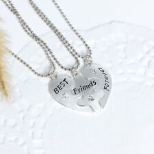 Set of 3 necklaces  Best Friends Forever