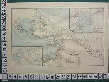 MAPPA STORICA Piano di Battaglia + testo ~ GUERRE DI GRECIA & Asia 312-301 A.C. poliperconte