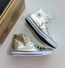 Converse CTAS Hi Light Gold/White/Black Size 12