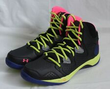 UNDER ARMOUR MICRO G TORCH 2 MEN'S BASKETBALL SHOES SIZE 9.5 BLACK