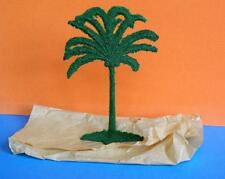 VINTAGE BARRETT & SONS FLOCK COATED LEAD COCONUT PALM TREE MINT OLD SHOP STOCK