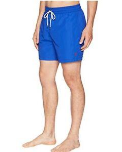 Polo Ralph Lauren Men's Big & Tall Traveler Swim Trunk Blue Sz 1XB