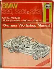 Haynes - BMW 320(&i), 323i / Oct 1977 to 1985 / Owners Workshop Manual - Used