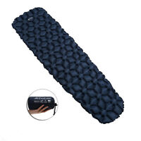 Inflatable Camping Sleeping Pad, Ultralight Portable Air Mat for Travel w/ Bag