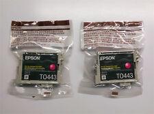 2 X OMBRELLONE EPSON t0443 MAGENTA c64 c66 c84 c86 cx3600 cx3650 cx6400 cx6600