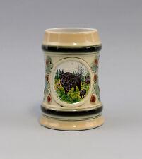 9959011 Porzellan Bierkrug Ernst Bohne/Ens Jagd Wildschwein Keiler H15cm