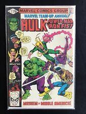 Marvel Team-up Annual 3 1980 Hulk Iron Fist Power Man Comic Book Free Comb. Ship
