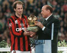 Foto Autografo Calcio Franco Baresi Milan Mondiali 1982 Sport Soccer Coa Signed