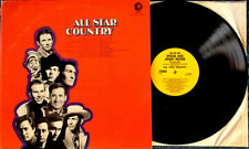 ALL STAR COUNTRY - MGM LP 4690 - YELLOW LABEL PROMO - HANK WILLIAMS, MEL TILLIS