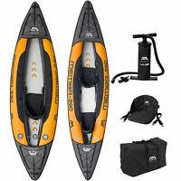 Aqua Marina Inflatable Memba Kajak Kanu Kayak Tourenkajak Boot 1er | 2er SET