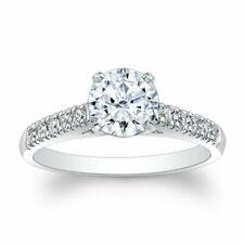 Halo Cushion Cut Diamond 1.10 Ct Engagement Ring 14k White Gold