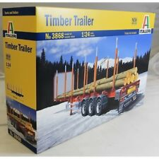 Italeri 1:24 3868 Timber Trailer Model Truck Kit