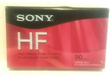 Sony HF Blank Cassette Tape NWOT New 90 Minutes Normal Bias