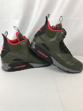 mens size 11 nike AIR MAX 90 SNEAKERBOOT WNTR dark green (684714 300) Waterproof