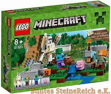 LEGO® Minecraft : 21123 Der Eisengolem & 0.-€ Versand & OVP & NEU !