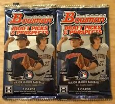 2x 2013 Bowman Draft HOBBY Pack (Aaron Judge Black Gold Chrome Refractor Auto)?