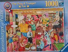 1000 PIECE JIGSAW PUZZLE THE FROG & TRUMPET PUB RAVENSBURGER ! NEW