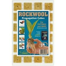 24 Rockwool Propagation Cubes Rockwool Propagation Cubes Free Pippet