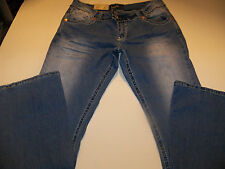 ANGELS STRETCH FLARE JEANS JUNIOR SIZE 0 REGULAR NWT