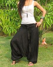 Harem Pants Women Aladdin Pants Harem Yoga Pants Genie Pants Thai Pants HL-U