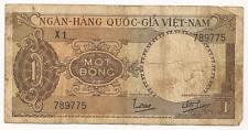 1945-1960  Viet-Nam Bank Note...1 Mot Dong
